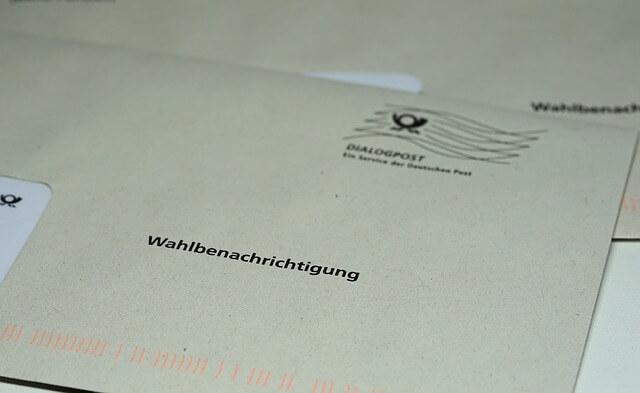 Briefumschlag -Briefwahl